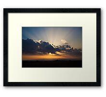 Just Us Framed Print