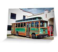 Chance Trolley Greeting Card
