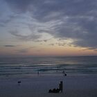 sunset on the emerald coast by slyfox64
