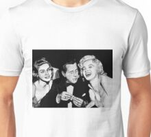 Bacall, Bogey, and Marilyn Unisex T-Shirt