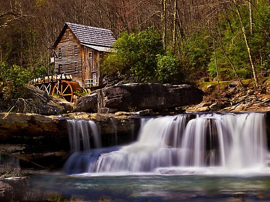 Falls At the Mill - WV by Kathy Weaver