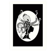 Attackopus Art Print