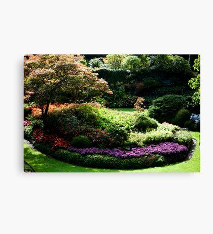 Butchart Gardens 454 Canvas Print