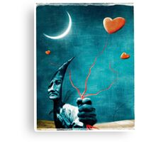 Heart's Goblin Canvas Print