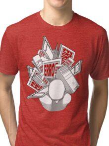 the weight of technology Tri-blend T-Shirt