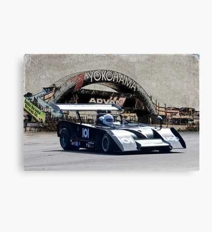 1972 Shadow Mk II Vintage Racecar Canvas Print