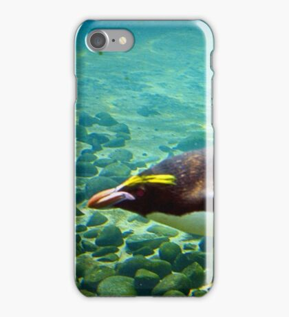 Flying under water iPhone Case/Skin