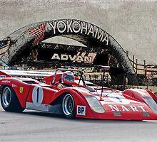 1971 Ferrari Sparling Vintage Racecar by DaveKoontz