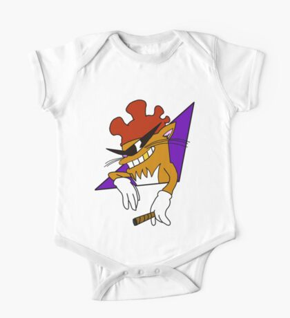 Cool Cat with the Rooster Hat! One Piece - Short Sleeve