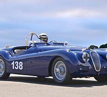 1951 Jaguar XK 120 Vintage Racecar by DaveKoontz