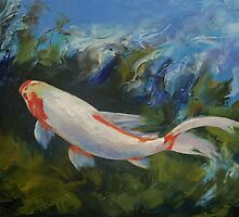 Zen Koi by Michael Creese