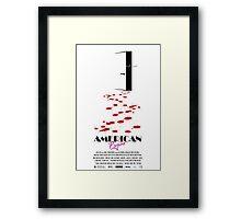 American Psycho Framed Print