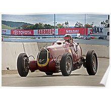 1935 Alfa Romeo 8C 35 Vintage Racecar Poster