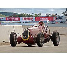1935 Alfa Romeo 8C 35 Vintage Racecar Photographic Print