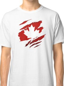 Canada Red Leaf Classic T-Shirt