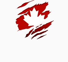 Canada Red Leaf Unisex T-Shirt