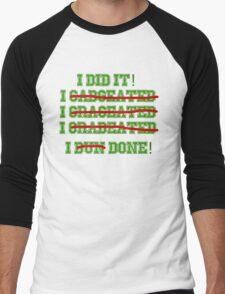 Funny Graduation Graduate Men's Baseball ¾ T-Shirt