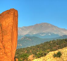 Garden of the Gods - Colorado by David Allen