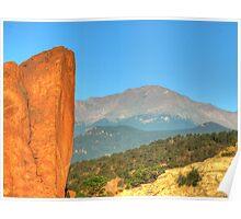 Garden of the Gods - Colorado Poster