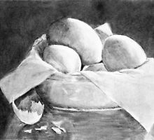 Basket of Eggs by Joy  Rector