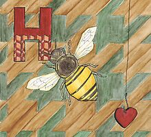 H is for Honey Bee by Renee Rigdon