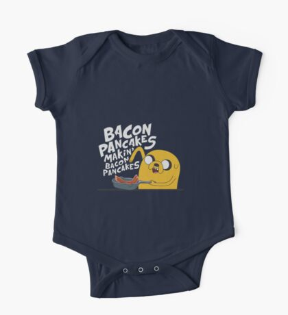 Bacon Pancakes One Piece - Short Sleeve