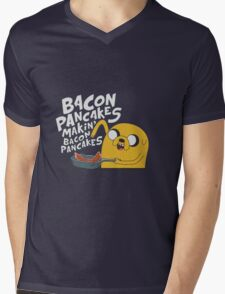 Bacon Pancakes Mens V-Neck T-Shirt
