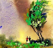 Buddies 2 by Anil Nene