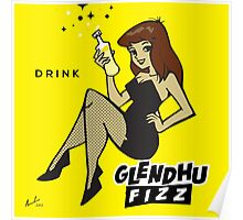 Glendhu Fizz Ice Cream Soda Poster