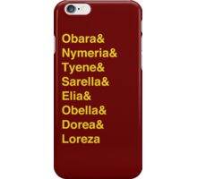 Sand Snakes iPhone Case/Skin