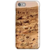 Panorama of the Pathfinder Landing Site iPhone Case/Skin