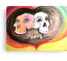 true love forever Canvas Print