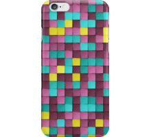 PAPER PIXEL / monday iPhone Case/Skin
