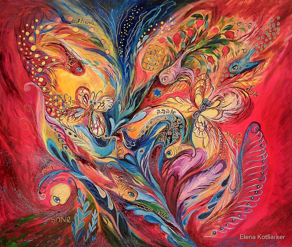 Emotion in Red by Elena Kotliarker