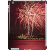 Wishes Fireworks from the Transportation and Ticket Center iPad Case/Skin