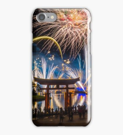 Fireworks from Epcot - Illuminations Reflections of Earth iPhone Case/Skin