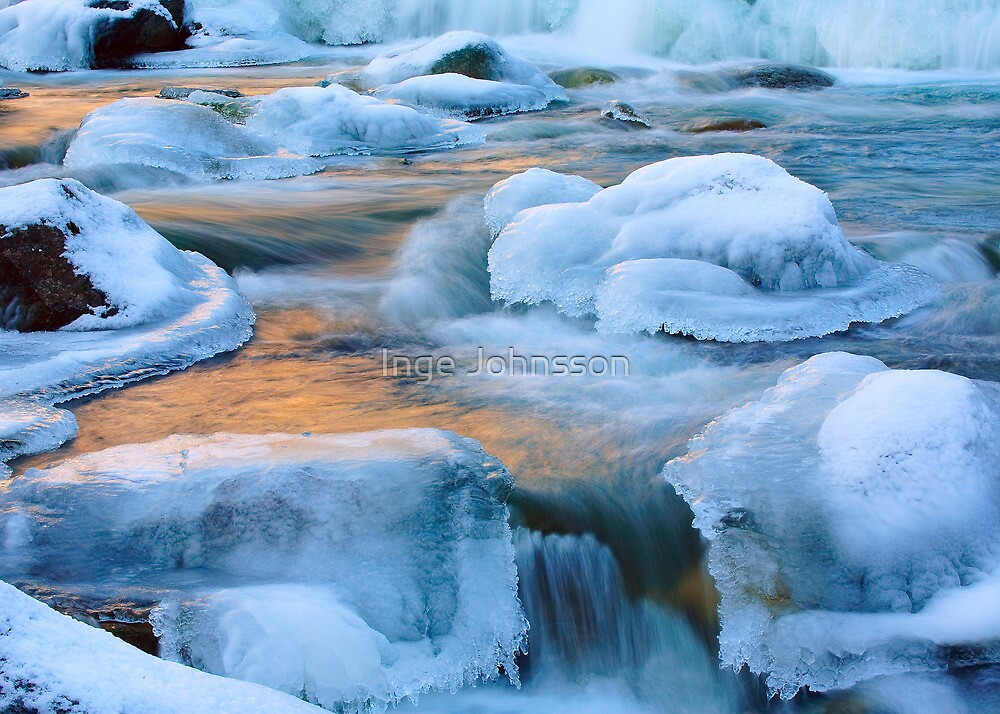 Icy Creek by Inge Johnsson