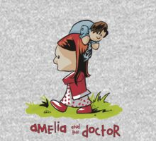 Amelia and the Doctor Baby Tee