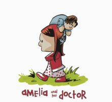 Amelia and the Doctor Kids Tee