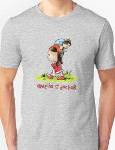 Amelia and the Doctor Unisex T-Shirt