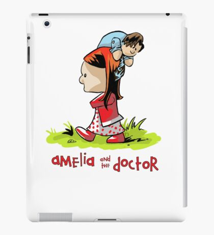 Amelia and the Doctor iPad Case/Skin