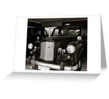 london taxi 2 Greeting Card