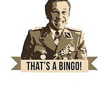Inglourious Basterds: Bingo! by coast-to-coast