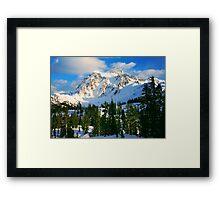 Shuksan Winter Framed Print