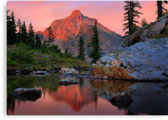 Highbox Peak by Inge Johnsson