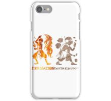 Earth and Fire iPhone Case/Skin