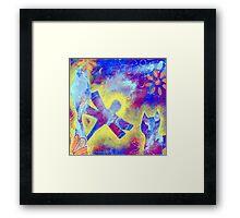 Garden in my heART - Dragonfly Framed Print