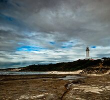 The Lighthouse Series: Weathered Lighthouse Circa 1903 by Paul Cons