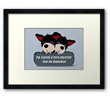 Portrait of a pair of Devils ... Rogue n Rascal Framed Print