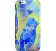 Garden in my heART - Cat & Birds iPhone Case/Skin